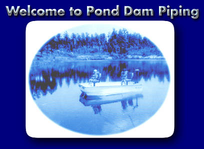 pond dam piping ltd complete pond systems